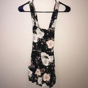 Open back, Cross Back Shortalls size 2 from H&M